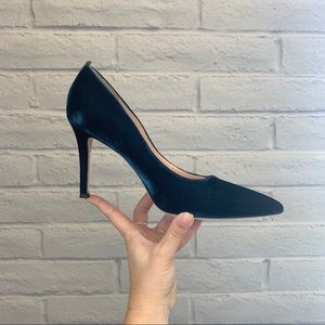 SJP by Sarah Jessica Parker Blue Suede Pumps US 8